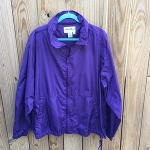 Mens Vintage Eddie Bauer Purple Jacket